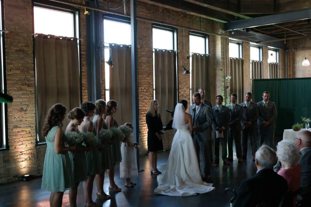 Best Indoor Wedding Ceremony DJs in Minneapolis - Butler Productions - Call 651-263-1471 !